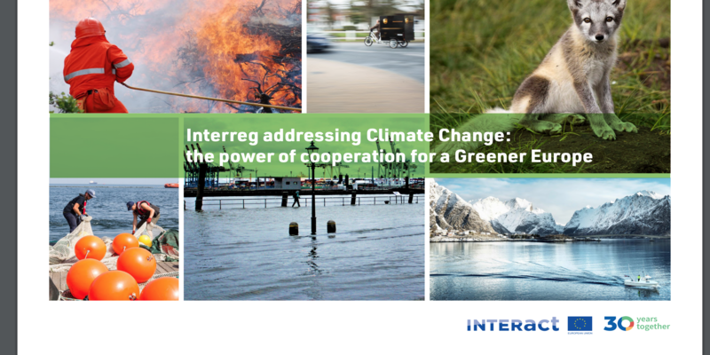 Interreg addressing Climate Change publication